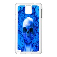 Alien Blue Samsung Galaxy Note 3 N9005 Case (white) by icarusismartdesigns