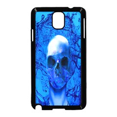 Alien Blue Samsung Galaxy Note 3 Neo Hardshell Case (black) by icarusismartdesigns
