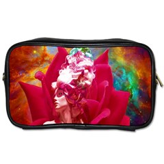 Star Flower Travel Toiletry Bag (one Side) by icarusismartdesigns