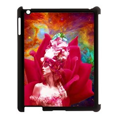 Star Flower Apple Ipad 3/4 Case (black) by icarusismartdesigns