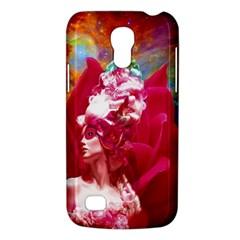 Star Flower Samsung Galaxy S4 Mini (gt I9190) Hardshell Case  by icarusismartdesigns