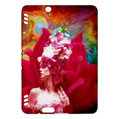 Star Flower Kindle Fire Hdx Hardshell Case by icarusismartdesigns
