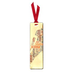 Michael Jackson Typography They Dont Care About Us Small Bookmark by FlorianRodarte