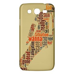 Michael Jackson Typography They Dont Care About Us Samsung Galaxy Mega 5 8 I9152 Hardshell Case  by FlorianRodarte