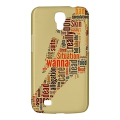 Michael Jackson Typography They Dont Care About Us Samsung Galaxy Mega 6 3  I9200 Hardshell Case