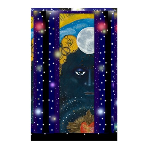 By Judith Pizzamiglio   Shower Curtain 48  X 72  (small)   Sdmu28c1ysid   Www Artscow Com 42.18 x64.8 Curtain
