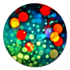 A Dream Of Bubbles Magnet 5  (round) by sirhowardlee