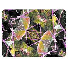 Geometric Grunge Pattern Print Samsung Galaxy Tab 7  P1000 Flip Case by dflcprints