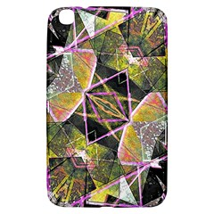 Geometric Grunge Pattern Print Samsung Galaxy Tab 3 (8 ) T3100 Hardshell Case  by dflcprints