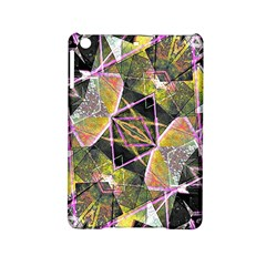 Geometric Grunge Pattern Print Apple Ipad Mini 2 Hardshell Case by dflcprints