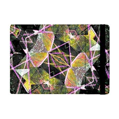 Geometric Grunge Pattern Print Apple Ipad Mini 2 Flip Case