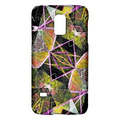 Geometric Grunge Pattern Print Samsung Galaxy S5 Mini Hardshell Case  by dflcprints