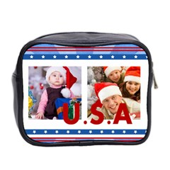 Usa By Mac Book   Mini Toiletries Bag (two Sides)   Tlj2xzii1tpk   Www Artscow Com Back