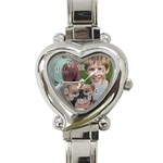 The Boys Watch - Heart Italian Charm Watch