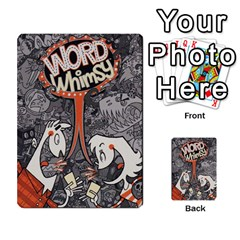 Word Whimsy Statement Cards By Endls Dremr   Playing Cards 54 Designs   Fqosb1c4hew0   Www Artscow Com Back