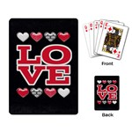Love Cards - Playing Cards Single Design