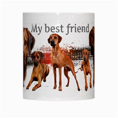 Ridgeback 004 By Nicole   White Mug   6kqg61n6rb6k   Www Artscow Com Center