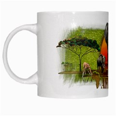 Africa 002 By Nicole   White Mug   Fv47s1co64e8   Www Artscow Com Left