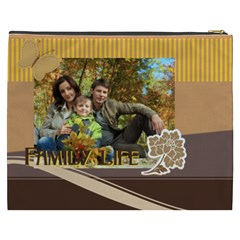 Family By Family   Cosmetic Bag (xxxl)   Knzv3e4ir52d   Www Artscow Com Back