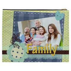 Family By Family   Cosmetic Bag (xxxl)   Ocaen06dir16   Www Artscow Com Back