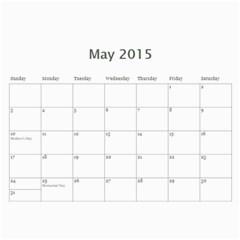 Calendar2015 By Paul Eldridge   Wall Calendar 11  X 8 5  (12 Months)   2py996ddrsdg   Www Artscow Com May 2015