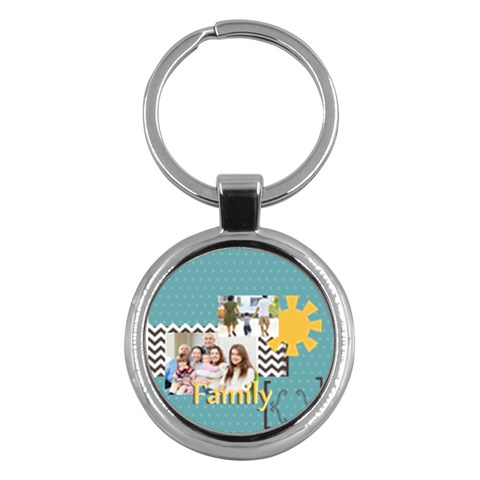 Family By Family   Key Chain (round)   Xyovh6x8bta0   Www Artscow Com Front
