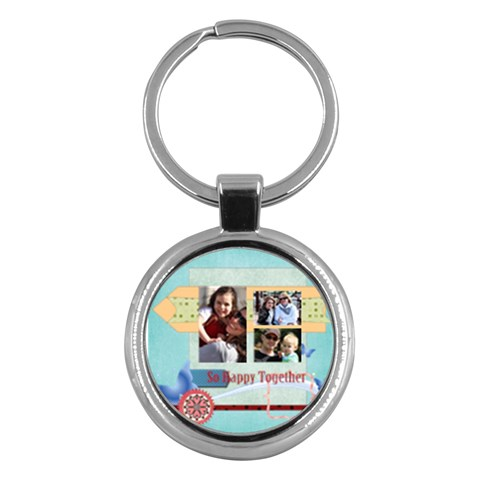 Family By Family   Key Chain (round)   Snmh60zppl13   Www Artscow Com Front