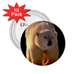 Polar Bear 2.25  Button (10 pack)
