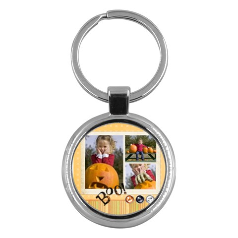Halloween By Helloween   Key Chain (round)   Gq96kmqesf29   Www Artscow Com Front