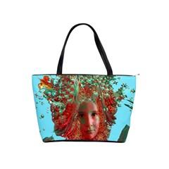Flower Horizon Large Shoulder Bag by icarusismartdesigns