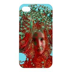 Flower Horizon Apple Iphone 4/4s Premium Hardshell Case by icarusismartdesigns