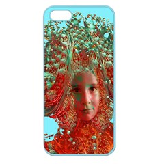 Flower Horizon Apple Seamless Iphone 5 Case (color) by icarusismartdesigns