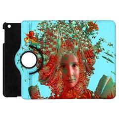 Flower Horizon Apple Ipad Mini Flip 360 Case by icarusismartdesigns