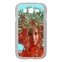 Flower Horizon Samsung Galaxy Grand Duos I9082 Case (white) by icarusismartdesigns