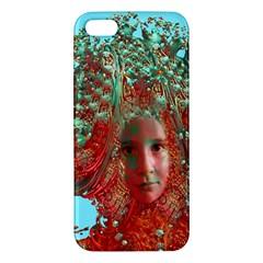 Flower Horizon Iphone 5s Premium Hardshell Case by icarusismartdesigns