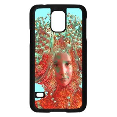 Flower Horizon Samsung Galaxy S5 Case (black) by icarusismartdesigns