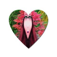 Tree Spirit Magnet (heart) by icarusismartdesigns