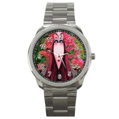 Tree Spirit Sport Metal Watch by icarusismartdesigns