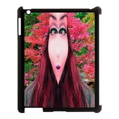 Tree Spirit Apple iPad 3/4 Case (Black) by icarusismartdesigns
