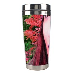 Tree Spirit Stainless Steel Travel Tumbler by icarusismartdesigns