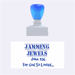 Jammin Jewels  - Rubber Stamp (Medium)