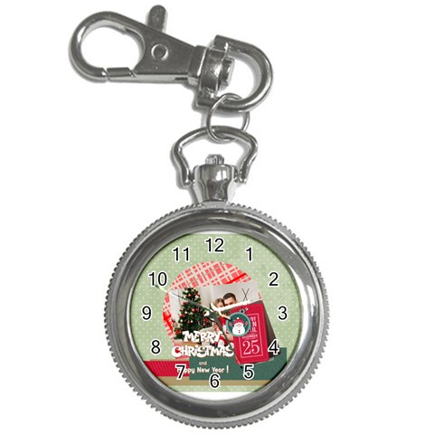 Xmas By Xmas4   Key Chain Watch   M3alij73mita   Www Artscow Com Front