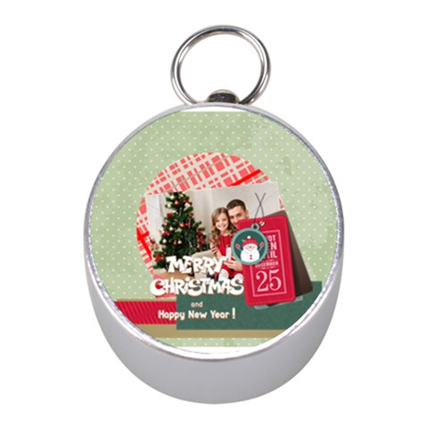 Xmas By Xmas4   Silver Compass (mini)   Qp145nwod32c   Www Artscow Com Front