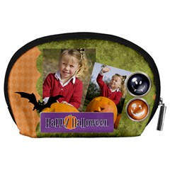 Halloween By Helloween   Accessory Pouch (large)   6hai40sjkqg2   Www Artscow Com Back