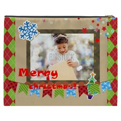 Xmas By Xmas4   Cosmetic Bag (xxxl)   8gm05pga5lxn   Www Artscow Com Back