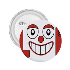 Laughing Out Loud Illustration002 2 25  Button by dflcprints