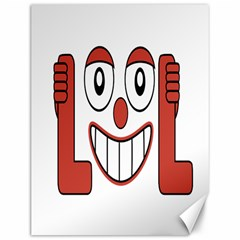 Laughing Out Loud Illustration002 Canvas 12  X 16  (unframed) by dflcprints