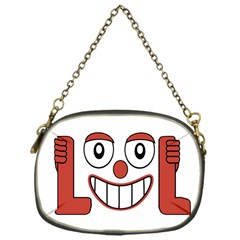 Laughing Out Loud Illustration002 Chain Purse (one Side) by dflcprints