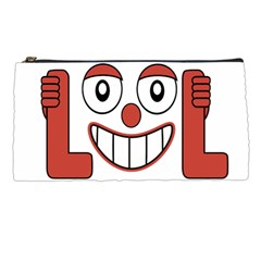 Laughing Out Loud Illustration002 Pencil Case by dflcprints