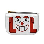 Laughing Out Loud Illustration002 Coin Change Purse Front
